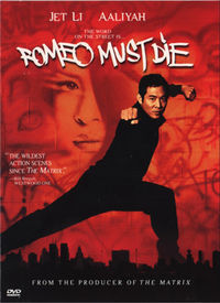 Romeo Must Die DVD cover