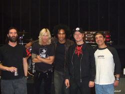 Recent picture of the surviving members of Alice in Chains alongside Duff McKagan and William DuVall