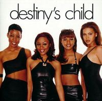 Destiny's Child's self-titled debut album (1998) (Knowles in the far right)
