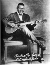 "Blind Blake was an influential blues singer and guitarist known as the ""King of Ragtime Guitar""."