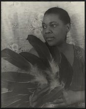 Bessie Smith was a very famous early blues singer.
