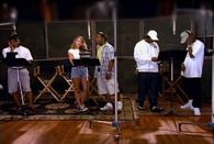"Carey and Boyz II Men recording ""One Sweet Day"" (1995), one of either act's biggest singles. Audio sample (help·info)"