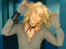 Cher in the Alive Again music video from the Living Proof album.