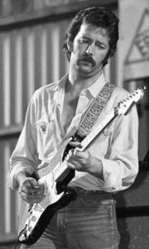 Eric Clapton in Wetzikon, Zurich, Switzerland on June 19, 1977