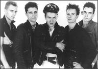 Left to right: Simonon, Howard, Strummer, White, Sheppard