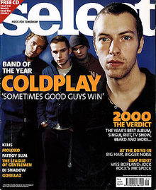 Coldplay, Select (January 2001)