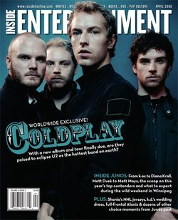 Coldplay, Inside Entertainment (April 2005)