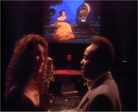 "Céline Dion & Peabo Bryson in the music video of ""Beauty And The Beast"", Dion's real international breakthrough."
