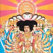 Axis: Bold as Love : The cover depicts Jimi's head superimposed onto an image of Durga, the Vedic deity.