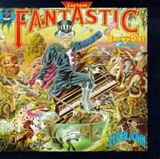Elton John's cryptic personality was revealed with the autobiographical album, Captain Fantastic and the Brown Dirt Cowboy.