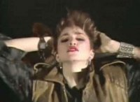 "Madonna's first music video, ""Everybody"", featured her sporting a mullet."