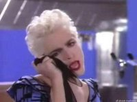 "Madonna's ""True Blue"" music video."
