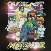 The cover to OutKast's landmark LP Aquemini (1998).