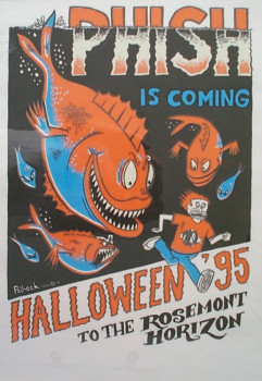Poster for Phish's 1995 Halloween extravaganza