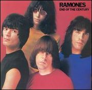 The Ramones on the cover of their 1980 album, End of the Century