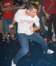 An example of hardcore dancing