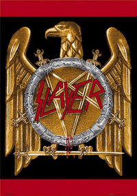 Slayer eagle logo, used during the Seasons in the Abyss period